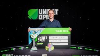 Martin Soukup gewinnt die Unibet Open Malta