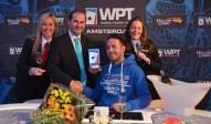 Paul Gresel (GER) gewinnt das WPT Amsterdam Big Stack Turnier