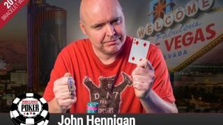 Viertes Bracelet für John Hennigan