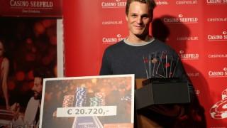 Lukas Ribis gewinnt das CAPT Seefeld II Deepstack Main Event