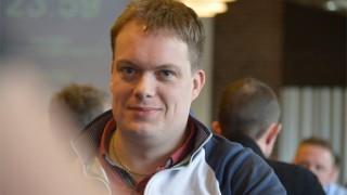 Overall-Chipleader Dennis Madsen (DEN) / Copyright: www.1stpoker.dk