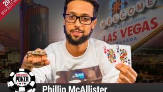 Phillip McAllister holt das Shootout-Bracelet