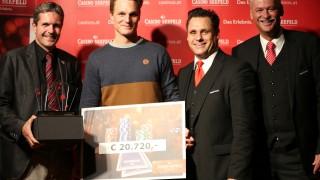 Sieger Lukas Ribis (GER)