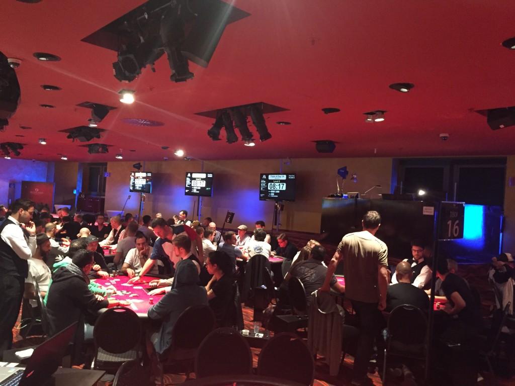 Spielbank Berlin - Über 500 Entries beim Triple A Main
