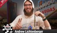 Andrew Lichtenberger (USA) gewinnt das 3k THNL