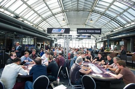 Eureka Poker Tour Turnierbereich im Casino Schenefeld