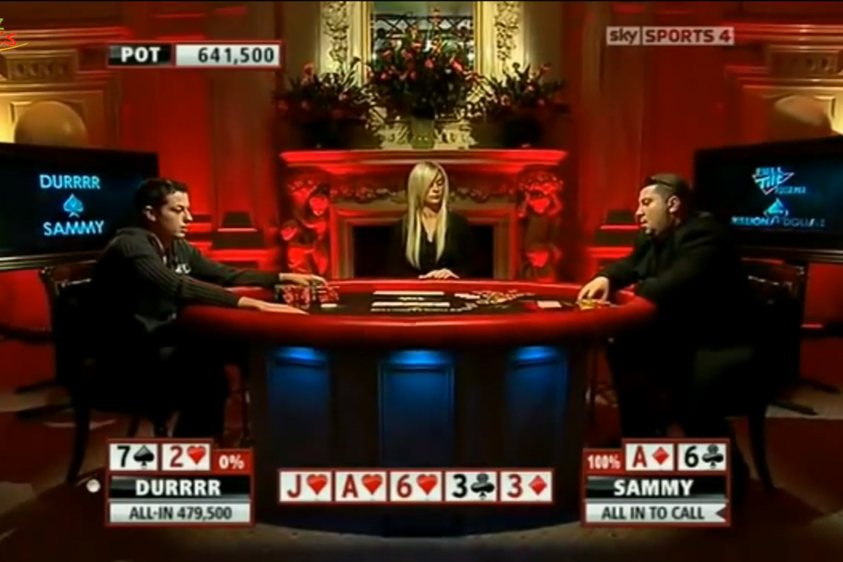 Krisztian Gyorgyi Plays Worst Starting Hand For All His Chips