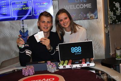 Turniersieger Urmo Velvelt beim 888live Tallin