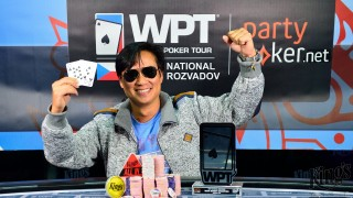 WPT National King's Rozvadov Champion Leo Tran (GER)