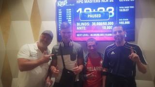 Die Gewinner des HGP Masters THNL Side Event am Samstag
