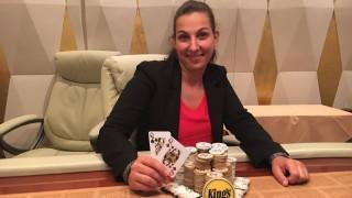 Bianca Jacobs gewinnt das King's Hold' em Championship