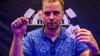 Roman Schäfer holt seinen ersten WSOPC Ring in Campione