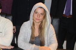 Chipleaderin Yvonne Stiedl (AUT)