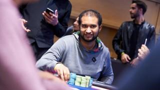 Ismael Bojang kämpft um den Sieg