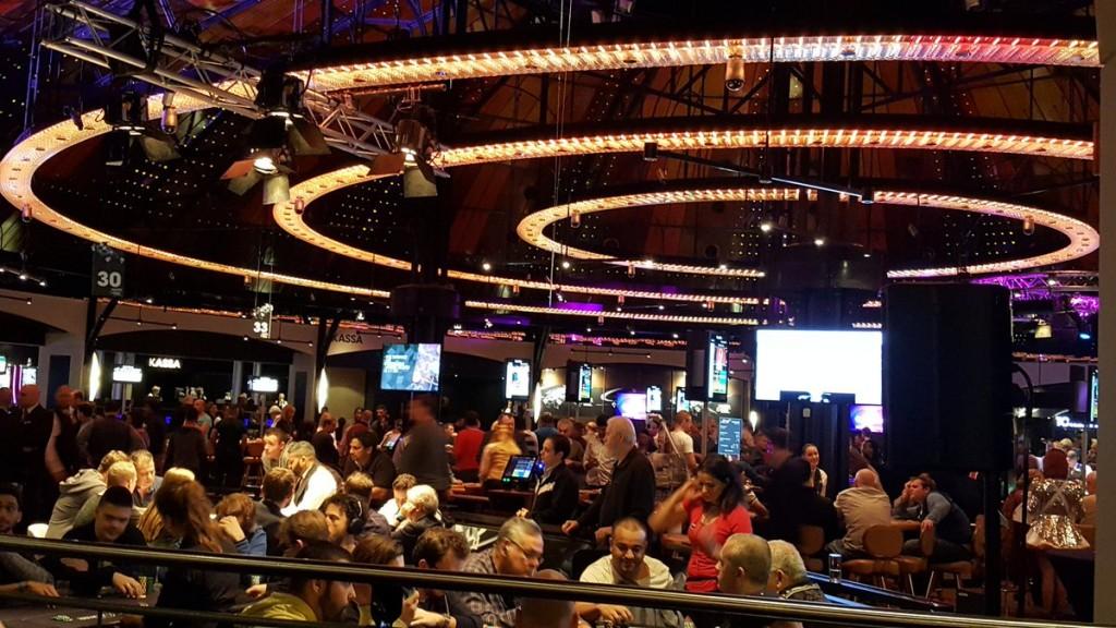 Turnierbereich im Holland Casino Amsterdam