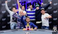 6-Max Champion Pablo Redrado Ruiz (ESP)