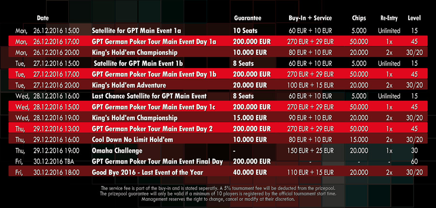 german-poker-tour-schedule