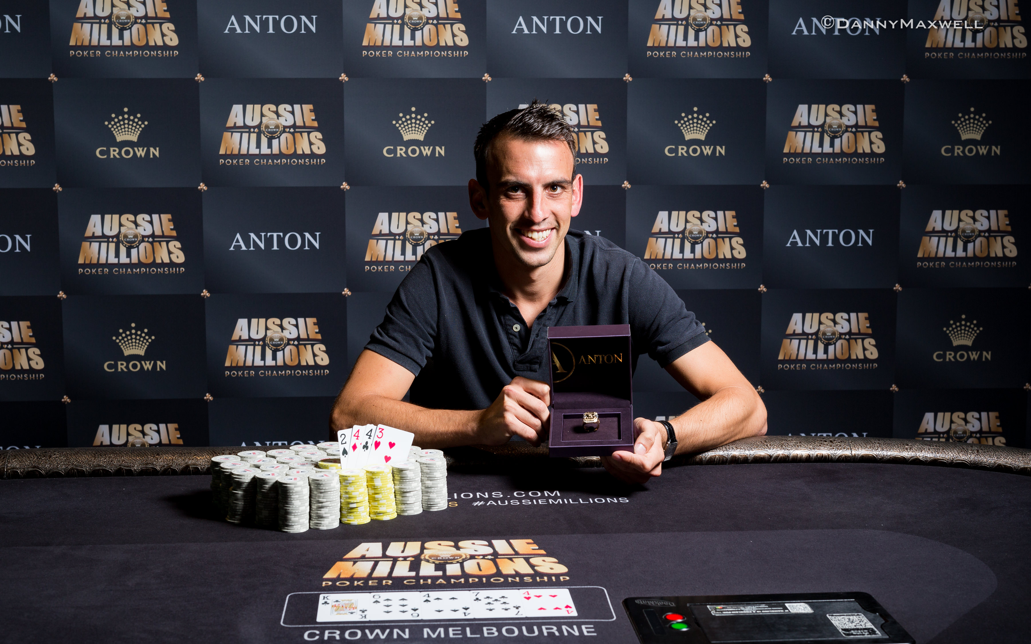 Corentin Hillion - Event 16 Winner Aussie Millions 2017