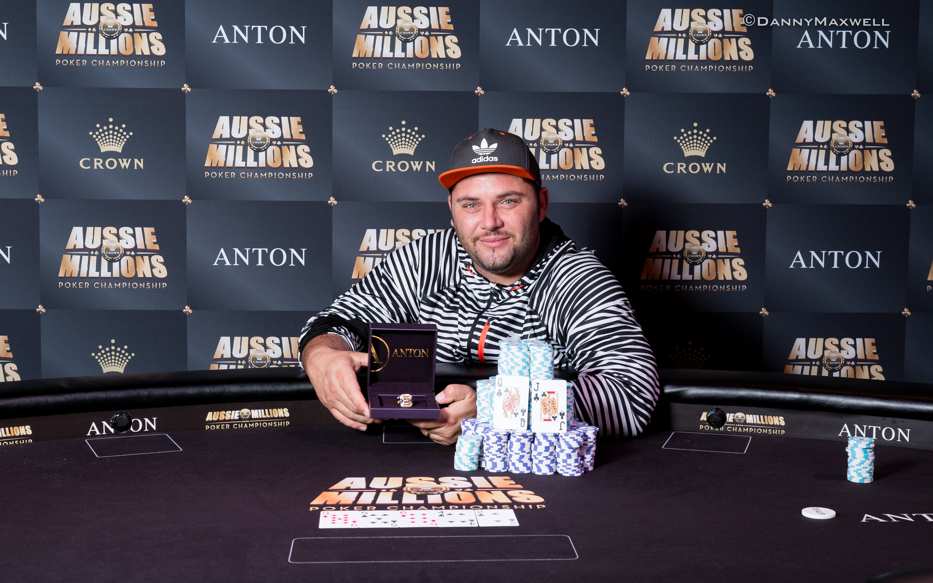 George Psarras - Event 17 Winner Aussie Millions 2017