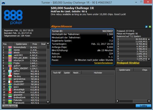 # 6 Sunday Challenge 80 k