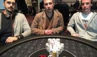 Die Gewinner des King's Hold'em Adventurte
