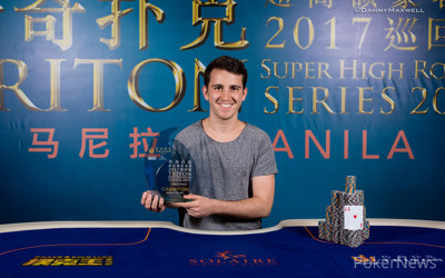 Koray Aldemir - Triton Super High Roller Series Manila HK $1,000,000 Main Event Winner 2017