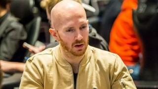 Chipleader Jesper Hougaard (DEN)