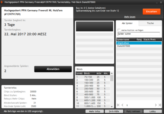 HGP PPM Freeroll