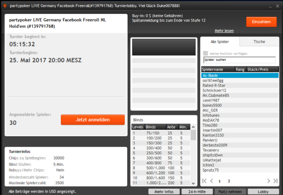 PPM Freeroll