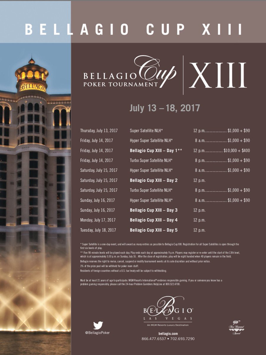 Bellagio Cup