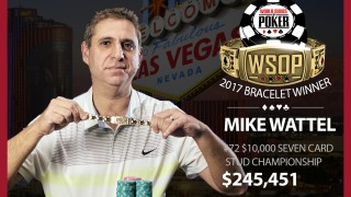 Mike Wattel ist der neue Stud-Champion!