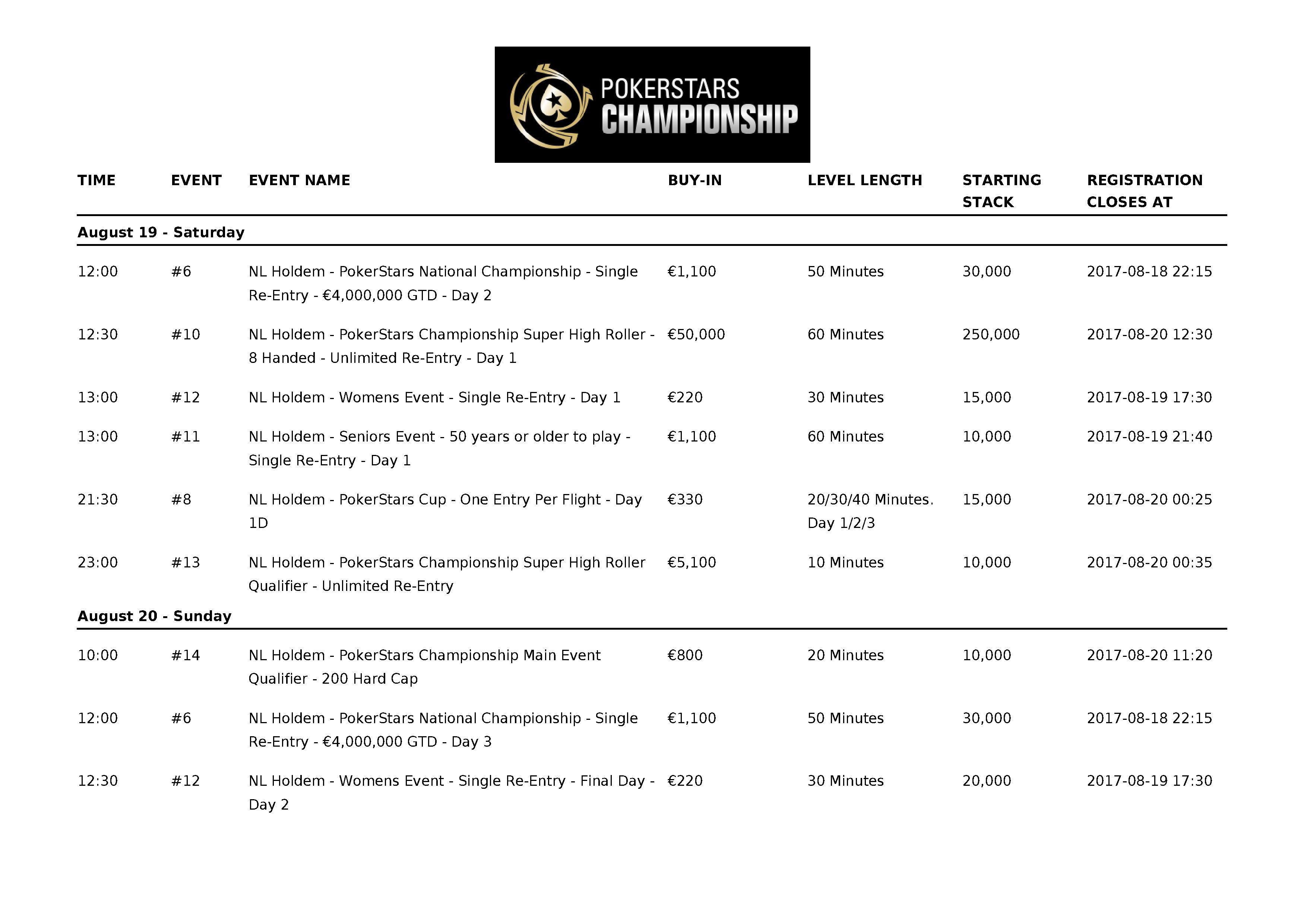 PokerStarsChampionship2017_Barcelona_Schedule_03