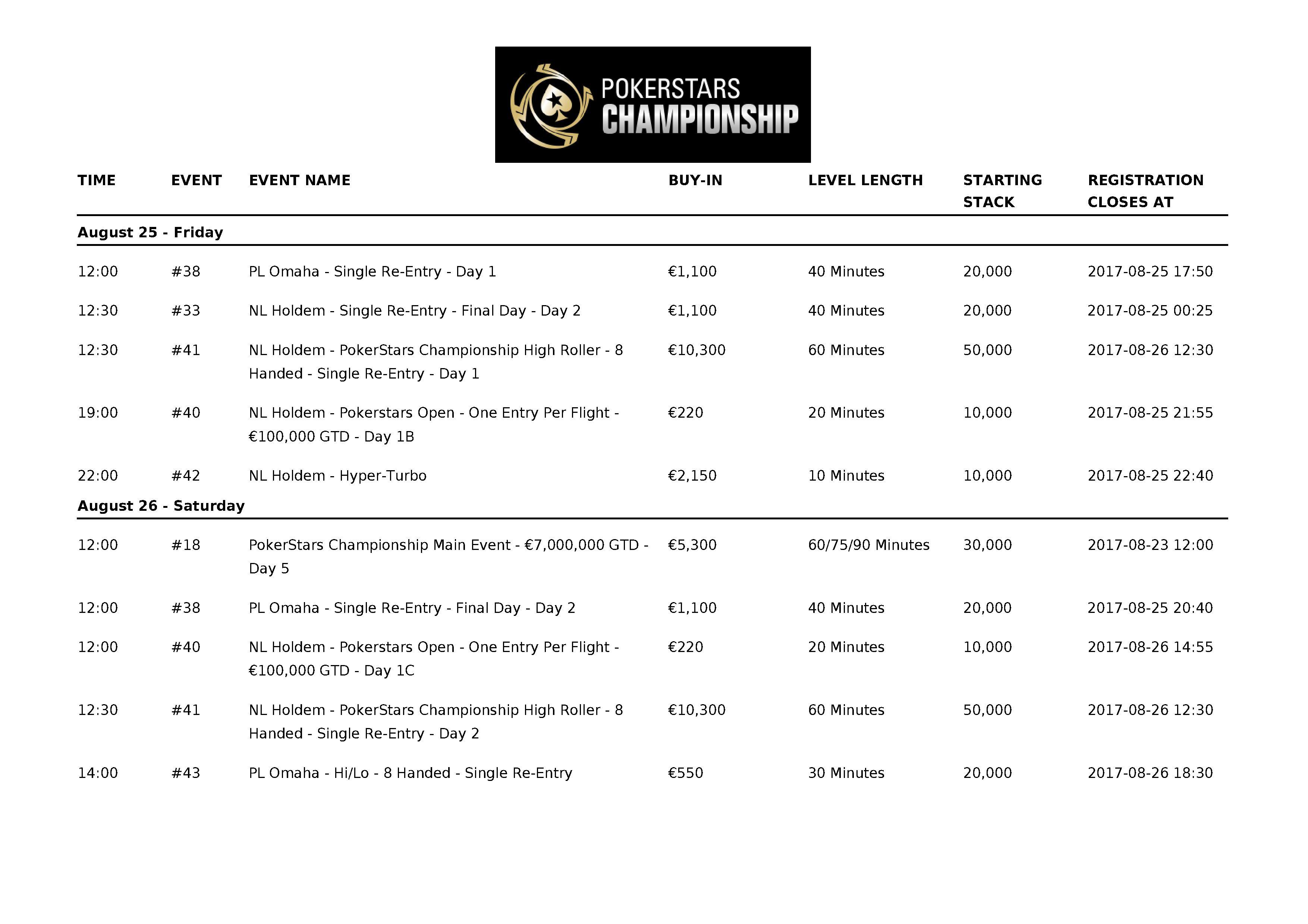 PokerStarsChampionship2017_Barcelona_Schedule_08