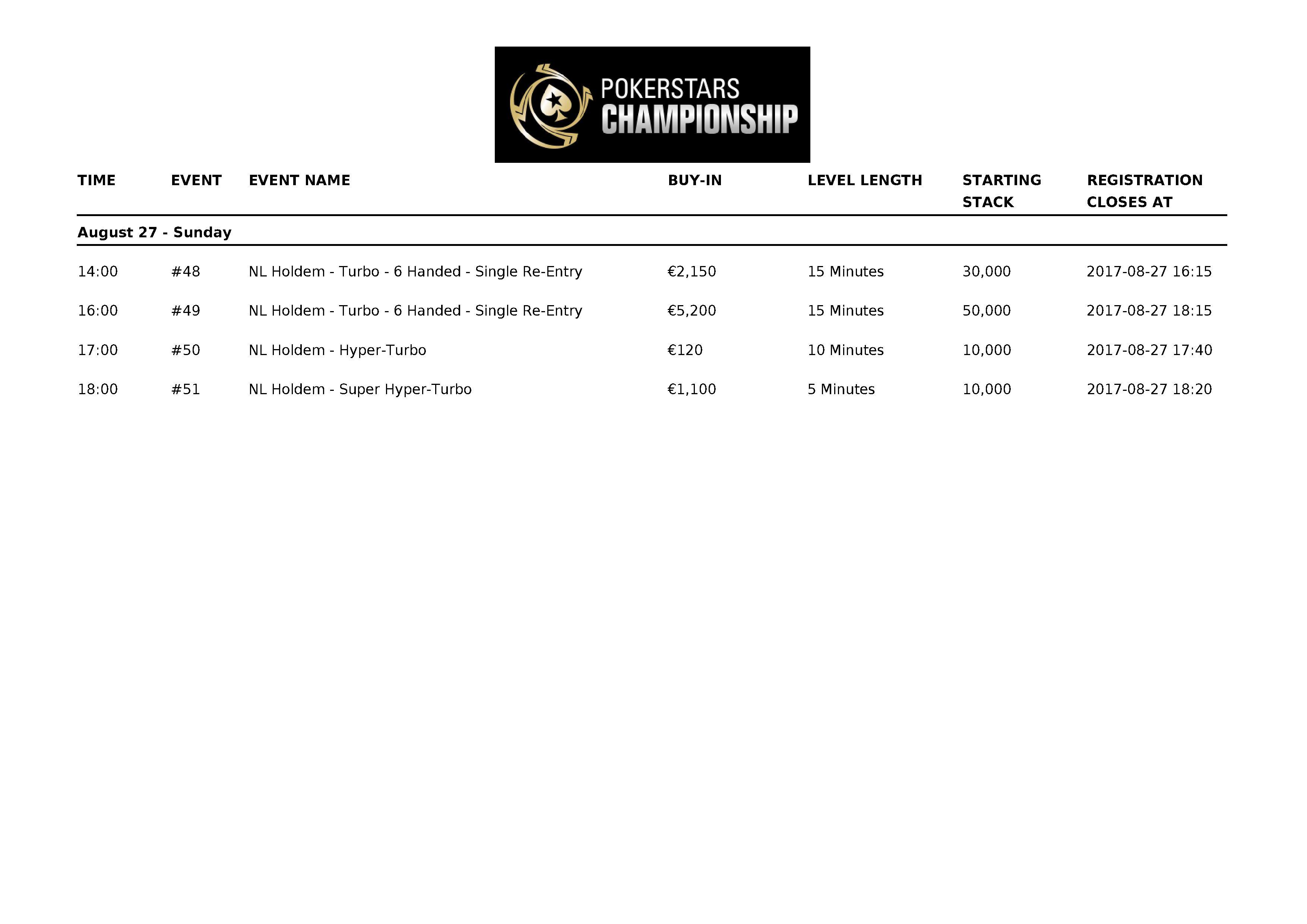 PokerStarsChampionship2017_Barcelona_Schedule_10