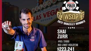 Shai Zurr holt Gold