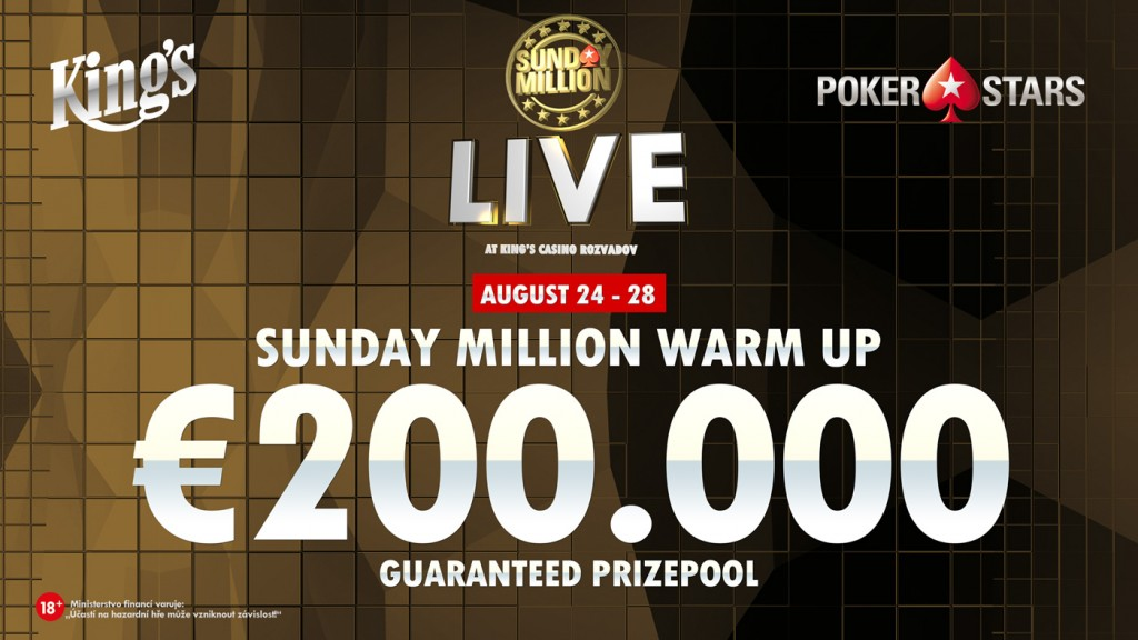 Sunday Million Warm Up