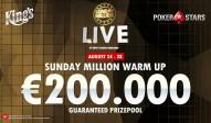 Sunday Million Warm Up