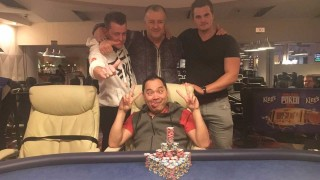 Die Gewinner des King's Deep Stack Weekender Event