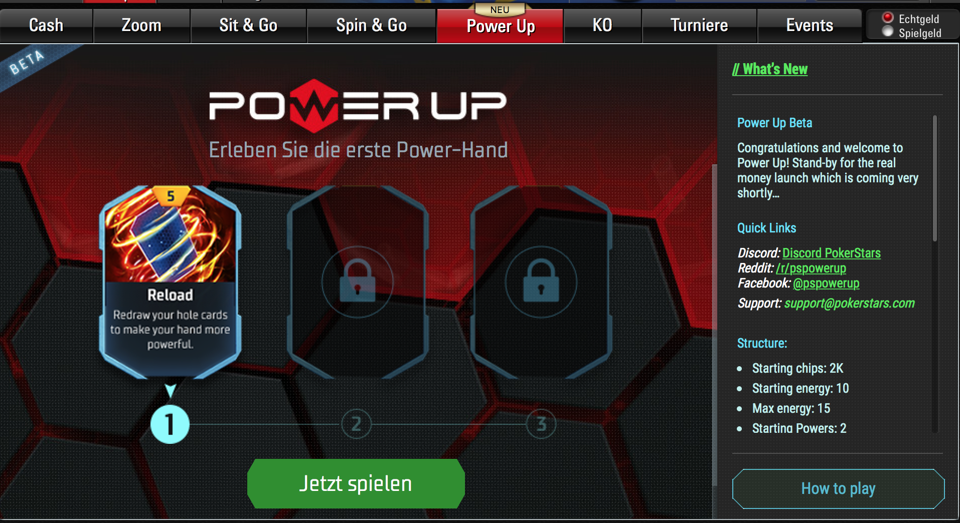 PokerStarsPowerup