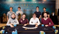 Triton Super High Roller Series Macau HKD $1,000,000 Main Event Final Table 2017