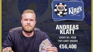 Winner PLO 8-max Andreas Klatt