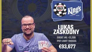 Winner PLO 8-max Lukas Zaskodny