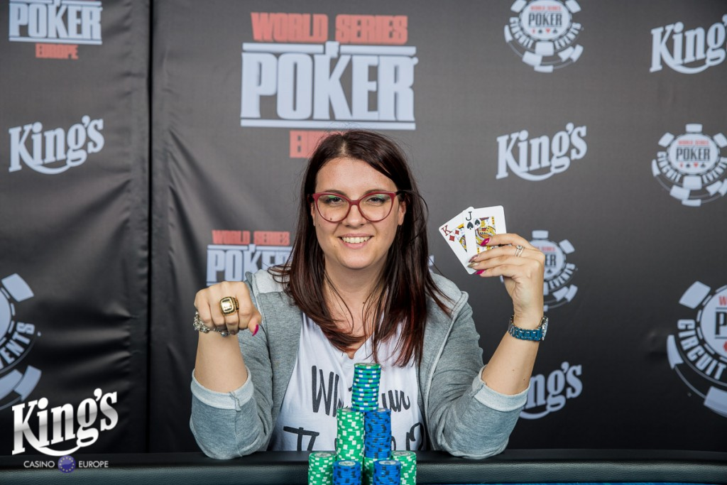 Winner WSOPC Ladies 13-10-2017