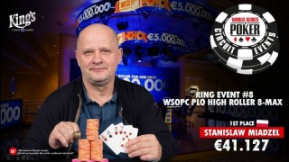 Winner WSOPC PLO High Roller -12-10-2017