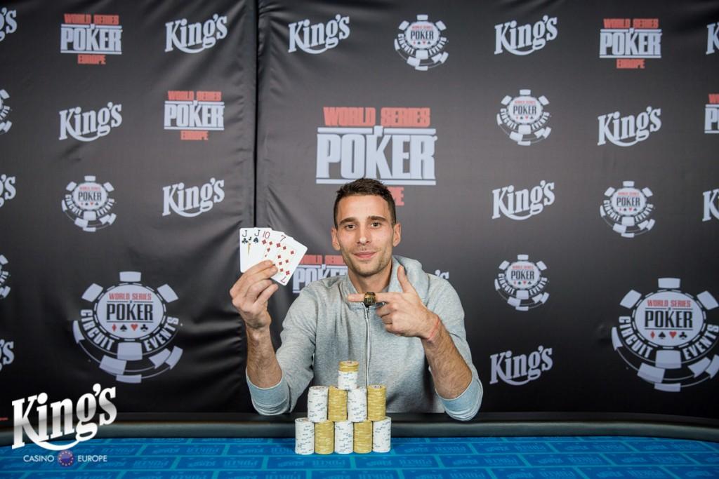 Winner WSOPC PLO-NLH 13-10-2017
