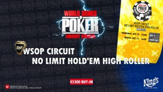 wsopc #10 No Limit Hold'em High roller teaser