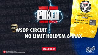 wsopc #6 No Limit Hold'em 6-max teaser