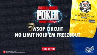 wsopc #9 No Limit Hold'em Freezeout Teaser