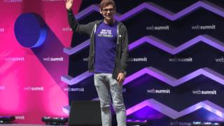 Holz beim Web Summit