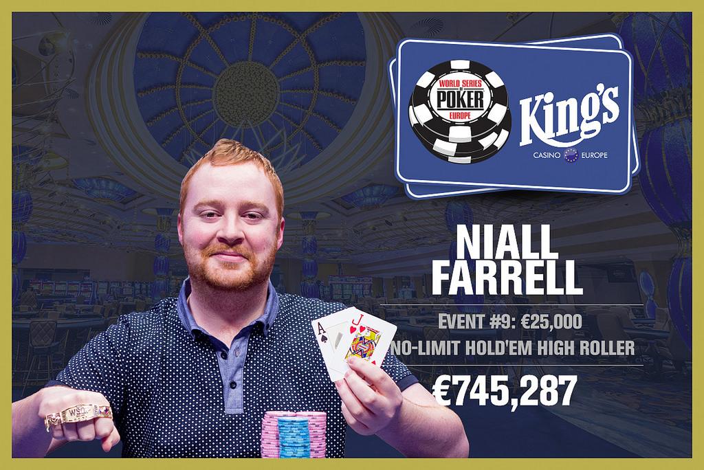 Winner Niall Farrell